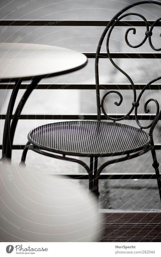 Gray Metal Leisure and hobbies Free Empty Esthetic Table Uniqueness Chair Café Terrace Sidewalk café