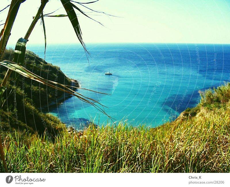 Sun Ocean Mountain Island Majorca Bay Sailboat Yacht Lagoon Sport boats Aria castle