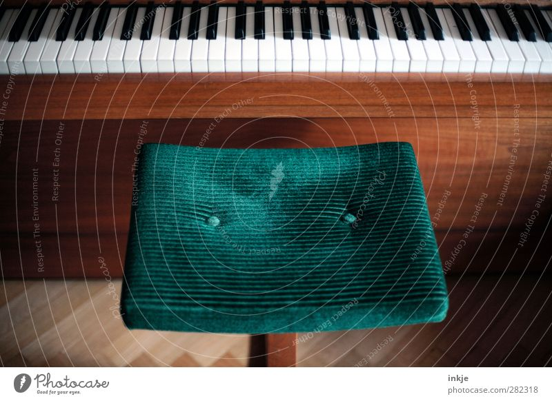 Green Playing Emotions Style Music Room Leisure and hobbies Study Lifestyle Living or residing Education Passion Keyboard Piano Diligent Old fashioned