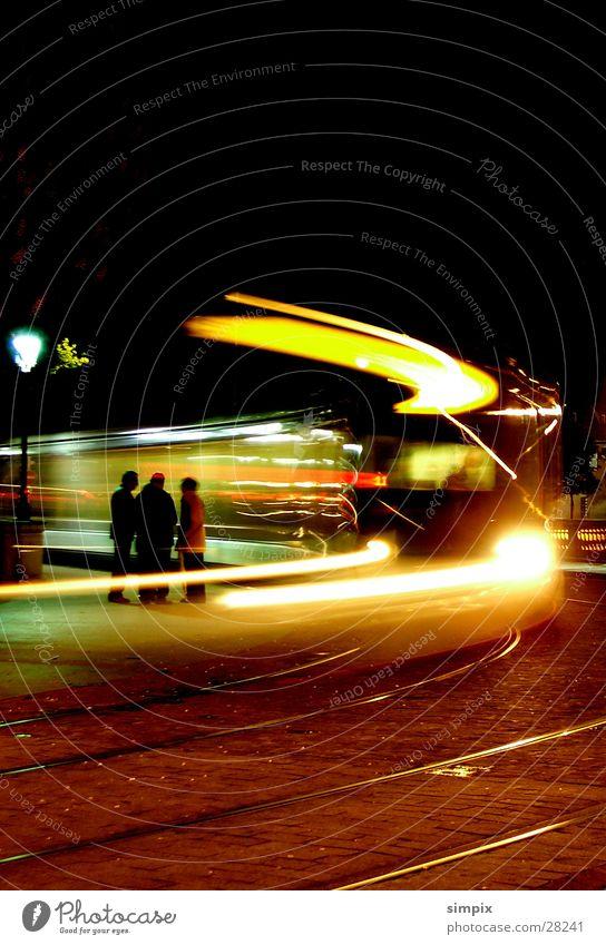 Street Bridge Railroad tracks Tram Alsace Strasbourg