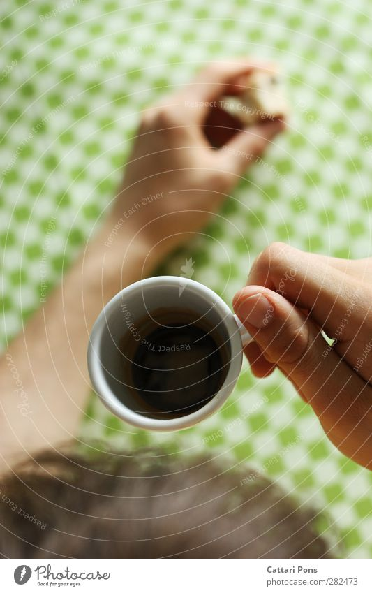 Human being Hand Black Dark Small Food Leisure and hobbies Masculine Fingers Beverage Coffee Touch To hold on Hot Strong Breakfast