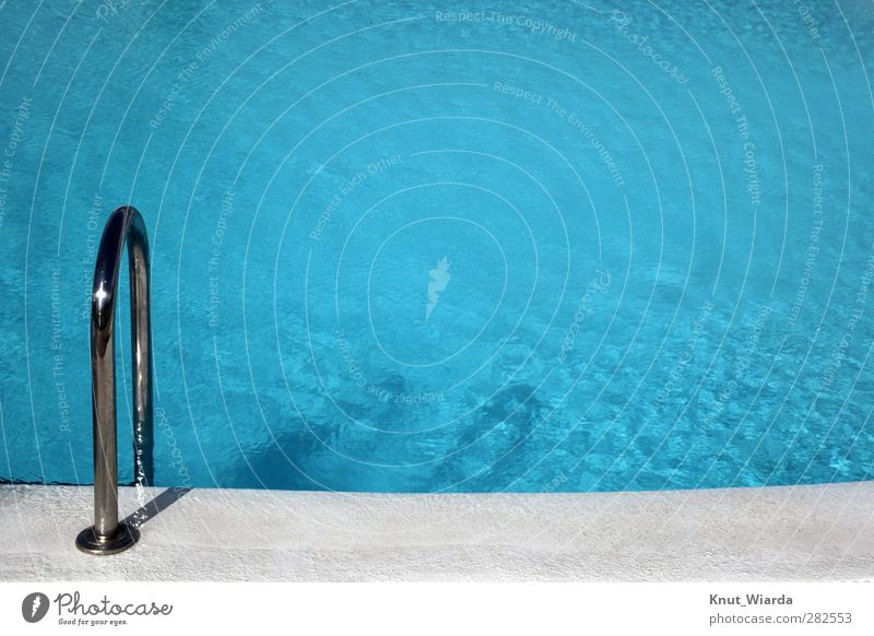 Swimming Pool Swimming & Bathing be afloat Vacation & Travel Tourism Summer Summer vacation Sports Aquatics Sporting Complex Swimming pool Blue Pool border