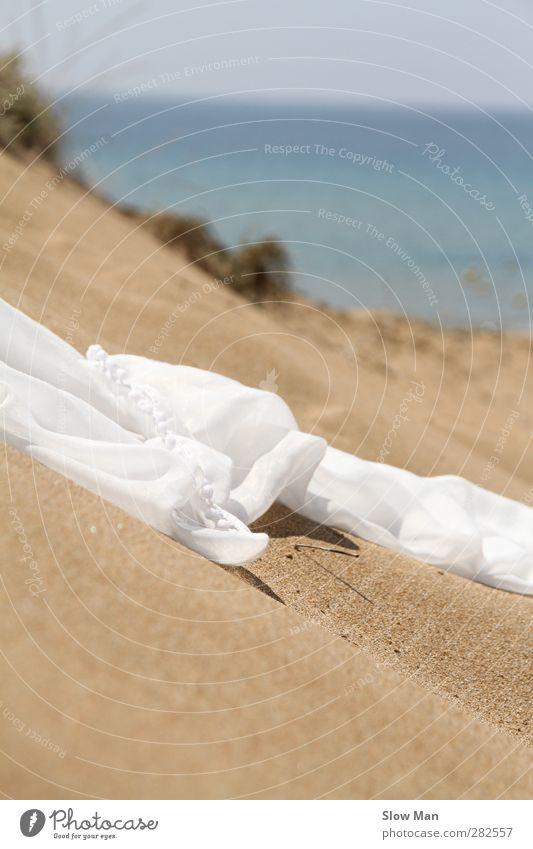 wind-borne Elegant Design Vacation & Travel Summer vacation Beach Sand Wind Warmth Lake Desert Fashion Cloth Accessory Scarf Esthetic Warm-heartedness Love