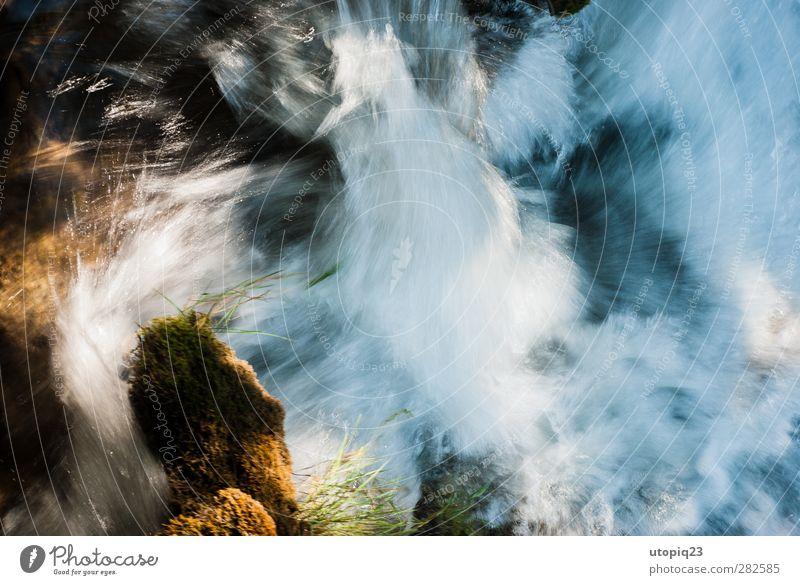 Nature Water Environment Movement Natural Stone Power Success Energy Climate Speed Esthetic Dangerous Adventure Frozen Moss