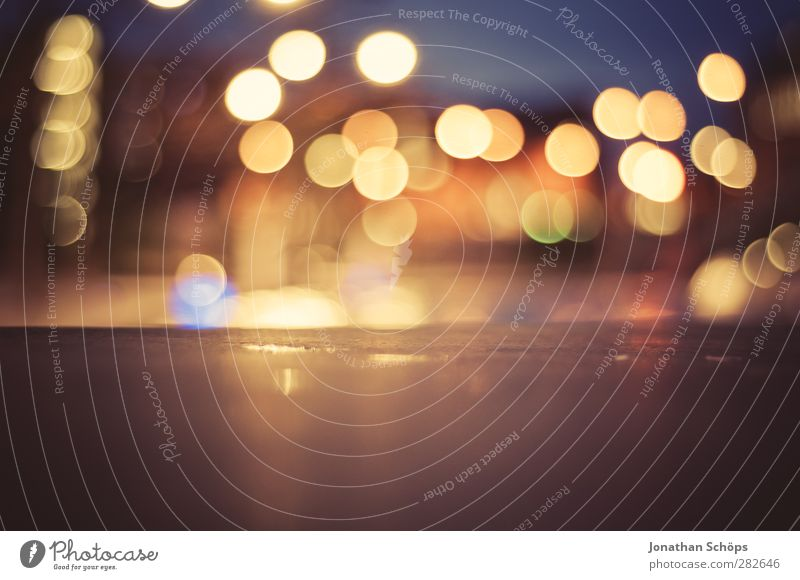urban Bokeh II Night life Blur Light Light (Natural Phenomenon) Sea of light Town Multicoloured Background picture Lighting Shallow depth of field Abstract