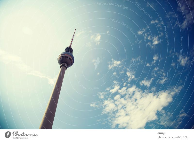 old [b]ut gold Sky Sky only Clouds Beautiful weather Town Capital city Manmade structures Tourist Attraction Landmark Monument Blue Berlin Berlin TV Tower
