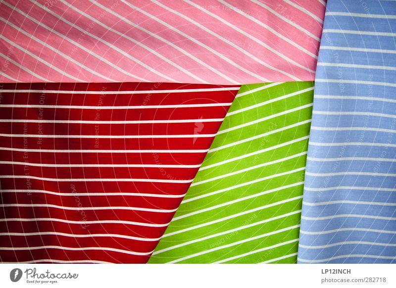 Striped & folded@ Style Design Fashion Clothing Hip & trendy Crazy Feminine Multicoloured Colour Shopping Folded cloth Line Fabric thread Creativity