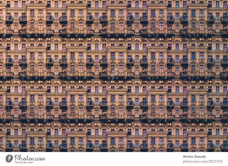 Town House (Residential Structure) Loneliness Lifestyle Wall (building) Berlin Style Business Wall (barrier) Exceptional Facade Moody Living or residing Design