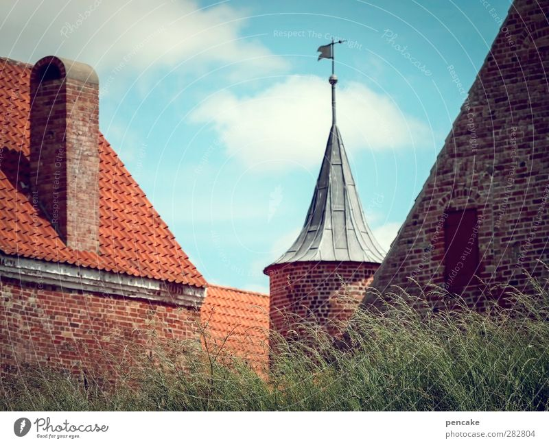 everything used to be better! | I've been rescued in castles. spøttrup Denmark Europe Outskirts Castle Tower Wall (barrier) Wall (building) Tourist Attraction
