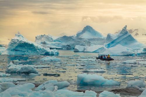 Antarctica Wild Nature Landscape Ice Cold Ocean South Iceberg