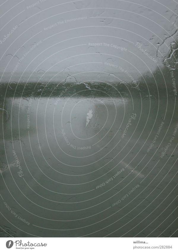 Loneliness Dark Street Sadness Gray Moody Rain Weather Fog Gloomy Bridge Storm Highway Motoring Bad Dreary