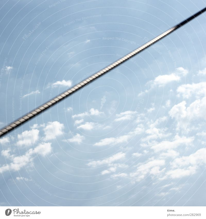 Sky Clouds Architecture Power Glittering Arrangement Tall Modern Esthetic Perspective Beautiful weather Communicate Bridge Might Safety Protection