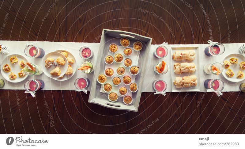 sweet and salty Dough Baked goods Dessert Nutrition Buffet Brunch Banquet Picnic Slow food Finger food Crockery Delicious Food table Sweet Salty Colour photo