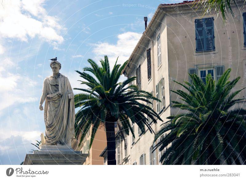 Fuck Bonaparte. Human being Masculine 1 Art Sculpture ajaccio Corsica Small Town Landmark Monument Stone Old Decline Past Transience Napoleon Palm tree