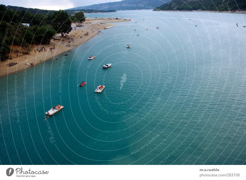 boat people Lifestyle Leisure and hobbies Vacation & Travel Tourism Trip Summer Summer vacation Sun Aquatics Swimming & Bathing Human being Crowd of people