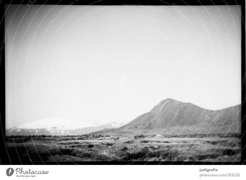 Iceland Environment Nature Landscape Climate Hill Rock Mountain Snowcapped peak Glacier Snæfellsjökull Snæfellsnes Exceptional Wild Moody Loneliness Uniqueness