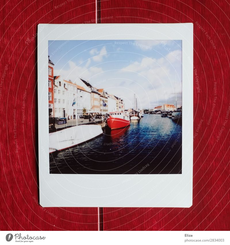 Nyhavn Fishing village Town Capital city Port City Retro Harbour Copenhagen Nyhavn canal Watercraft Channel House (Residential Structure) Maritime Scandinavia
