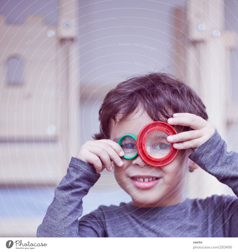 Human being Child Green Red Joy Playing Boy (child) Wood Gray Head Brown Infancy Masculine Authentic Curiosity Plastic