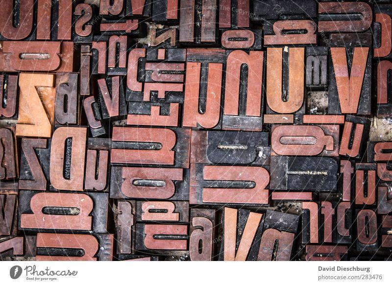ndauzbQrDofcisZV Stone Wood Metal Sign Characters Blue Brown Yellow Orange Black Letters (alphabet) Alphabet soup Print shop Individual U N q Printing