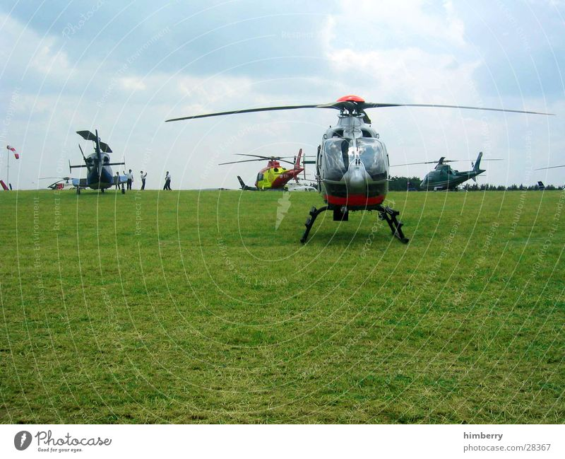 heli circus Helicopter Flying Germany Sky Gasoline Means of transport Pilot Airfield Aviation Motorsports