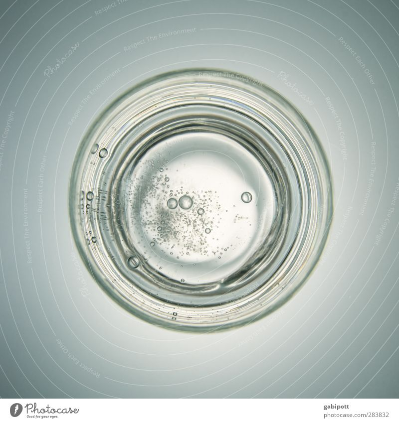 Gray Healthy Glass Drinking water Fresh Perspective Circle Beverage Break Uniqueness Idea Advertising Crockery Bubble Inspiration Thirst