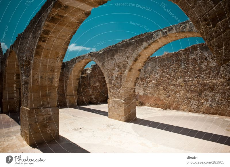daylight cellar Vacation & Travel Tourism Trip Adventure Sightseeing Expedition Summer Summer vacation Sun Sky Cloudless sky Climate Beautiful weather Greece