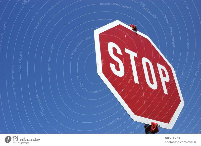 Sky Street Transport Perspective Road sign Stop Mixture Stop sign