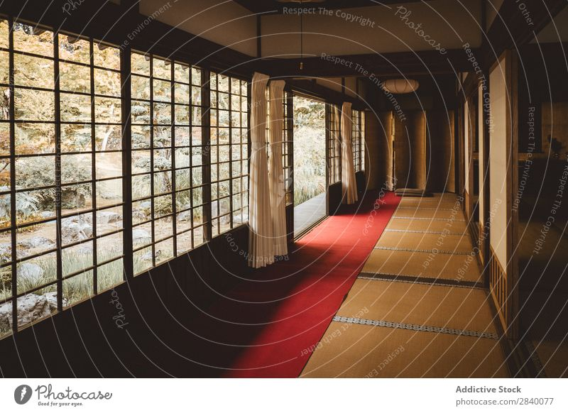 Interior of Asian house Interior design House (Residential Structure) asian Tradition Home Window Light Culture Room Wood oriental Japanese Minimalistic Design