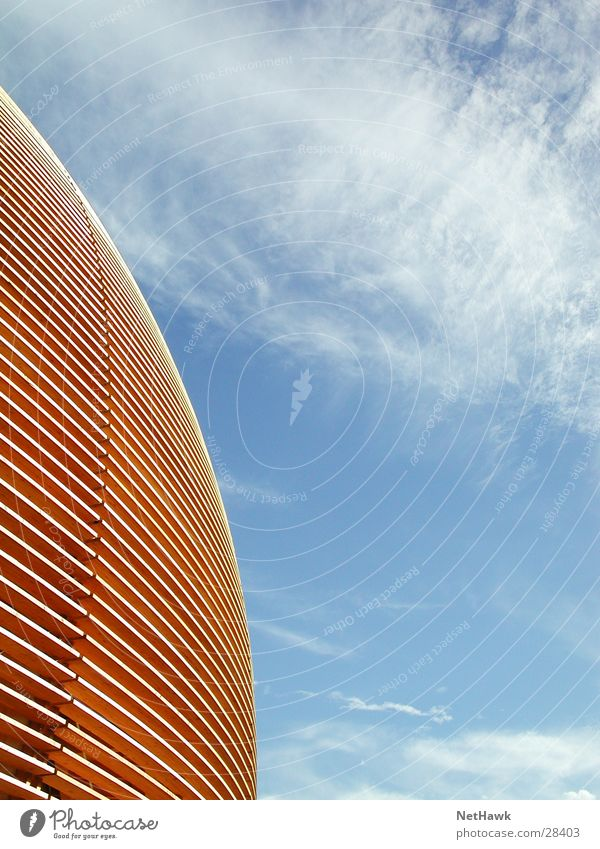 Sky Clouds Wood Architecture Manmade structures Dome Domed roof