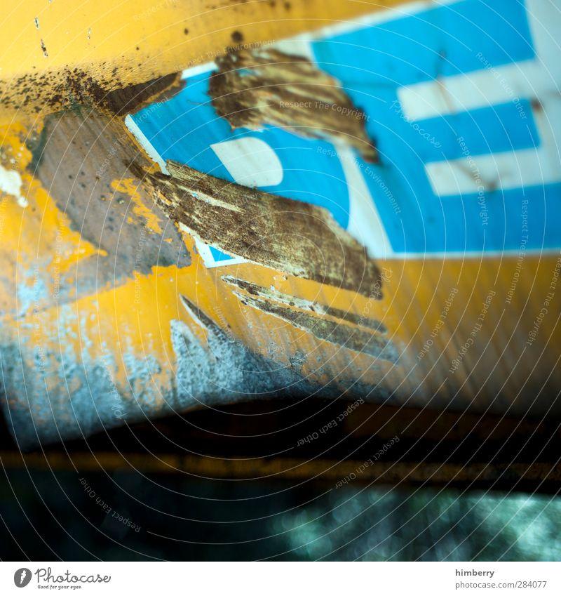 sachschaden.de Art Media Metal Testing & Control Design Federal eagle Damage Bulge Industrial Photography Typography Crane Excavator Construction machinery