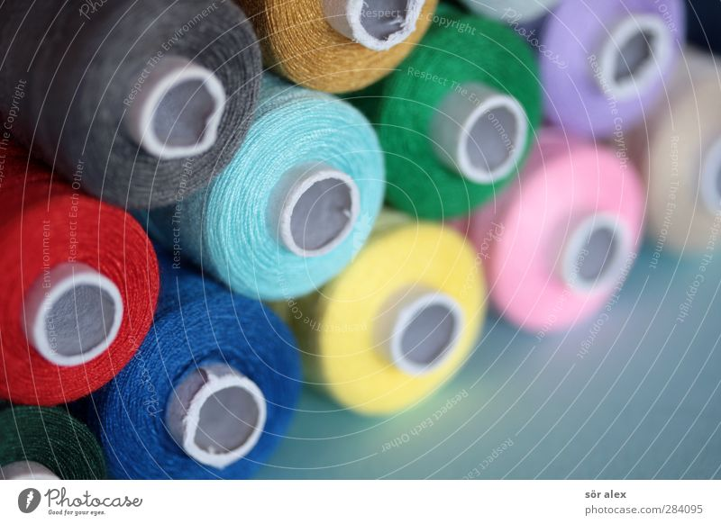 multicolor sewing thread Tailor Fashion Clothing Sewing thread Hip & trendy Blue Multicoloured Green Pink Red Creativity Leisure and hobbies Tailoring Gaudy