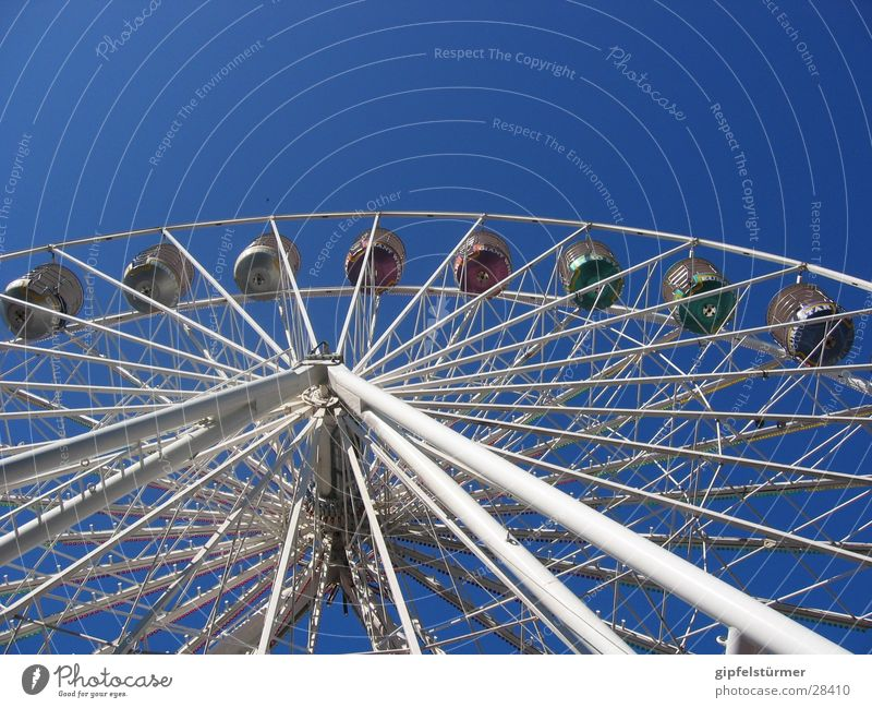 Sky Leisure and hobbies Fairs & Carnivals Rotate Ferris wheel
