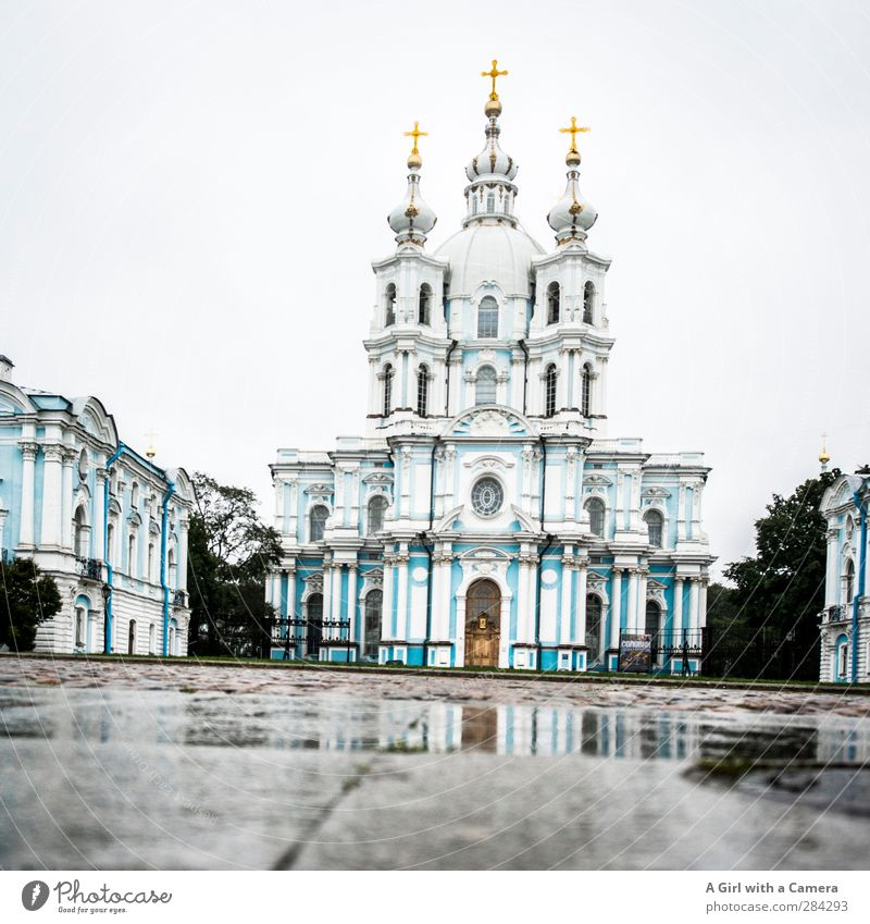 cold country St. Petersburgh Russia Port City Downtown Old town Dome Manmade structures Building Architecture Tourist Attraction Exceptional Far-off places