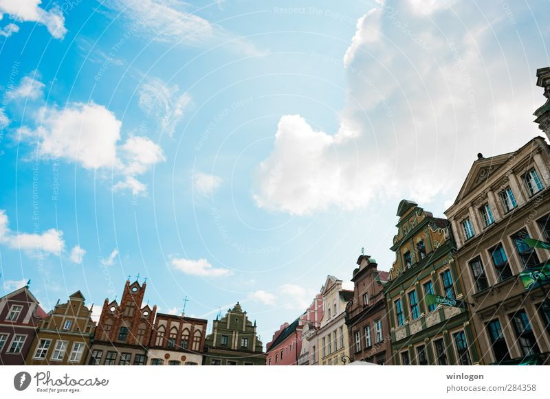 Poznan city centre Luxury Elegant Design Vacation & Travel Sightseeing City trip Summer House (Residential Structure) Art Architecture Culture Art nouveau