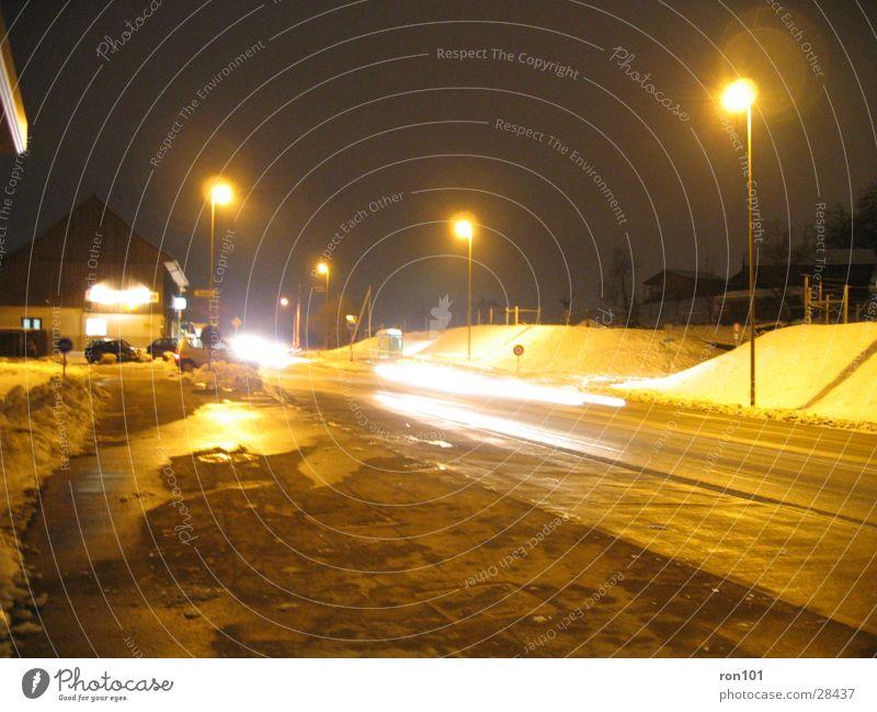 Street Snow Car Lighting Lantern Street lighting