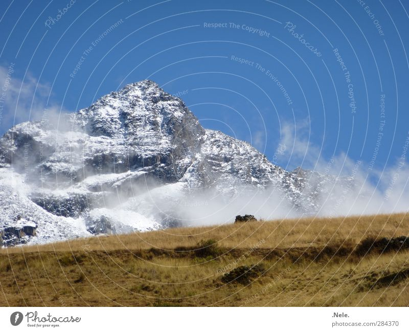 Nature Calm Landscape Environment Mountain Snow Spring Ice Weather Power Earth Fog Elements Frost Serene Snowcapped peak