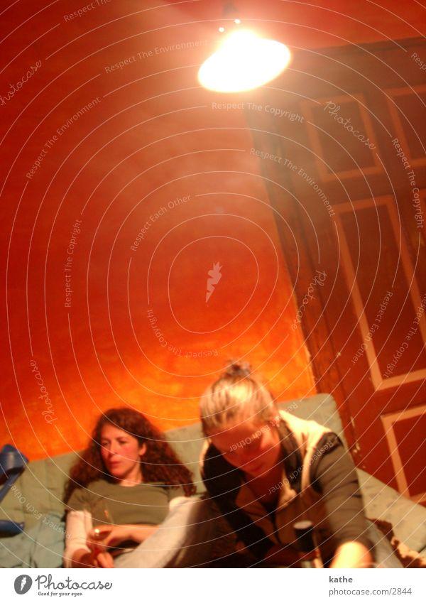 red room 02 Red Sofa Woman Human being nicole tini Orange Door