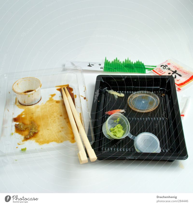 Eating Healthy Healthy Eating Food Fresh Nutrition Fish Plastic Trash Japan Diet Bowl Lunch Plastic packaging Packaging Vegetarian diet