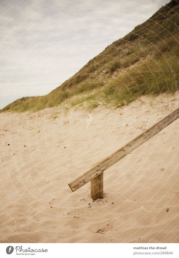 Sky Nature Old Beach Clouds Calm Landscape Environment Grass Coast Sand Horizon Eternity Banister Bad weather