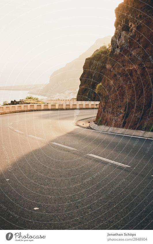 Street in San Andrés, Santa Cruz de Tenerife, Tenerife Mountain Fog Haze Landscape San Andres Santa Cruz de Teneriffa Canaries Travel photography