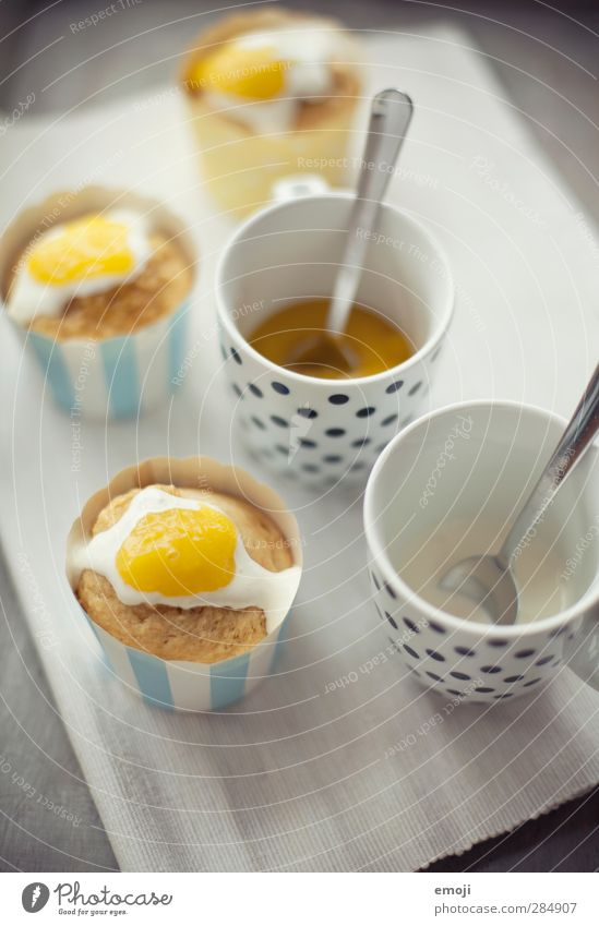 Yellow Nutrition Delicious Cup Baked goods Dough Dessert Cream Muffin Finger food Fried egg sunny-side up Cupcake