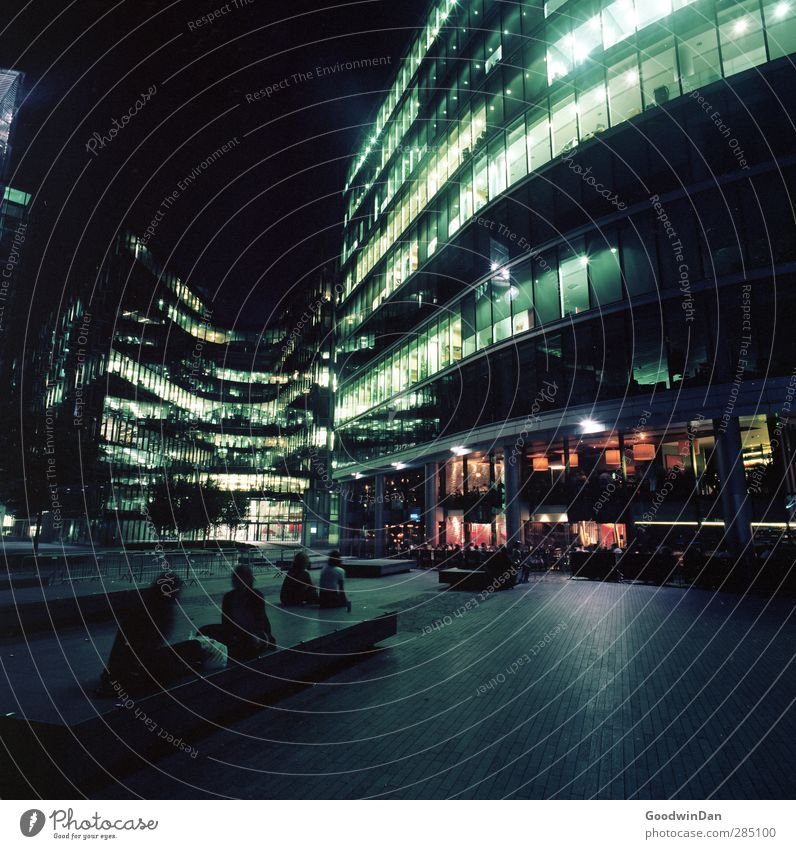 Human being City House (Residential Structure) Dark Cold Feminine Architecture Building Facade Masculine Authentic High-rise Bank building Downtown Terrace