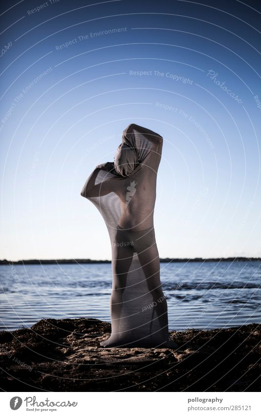 abstract bodies (12) Human being Masculine Young man Youth (Young adults) Man Adults Life Body 18 - 30 years Environment Nature Landscape Water Sky
