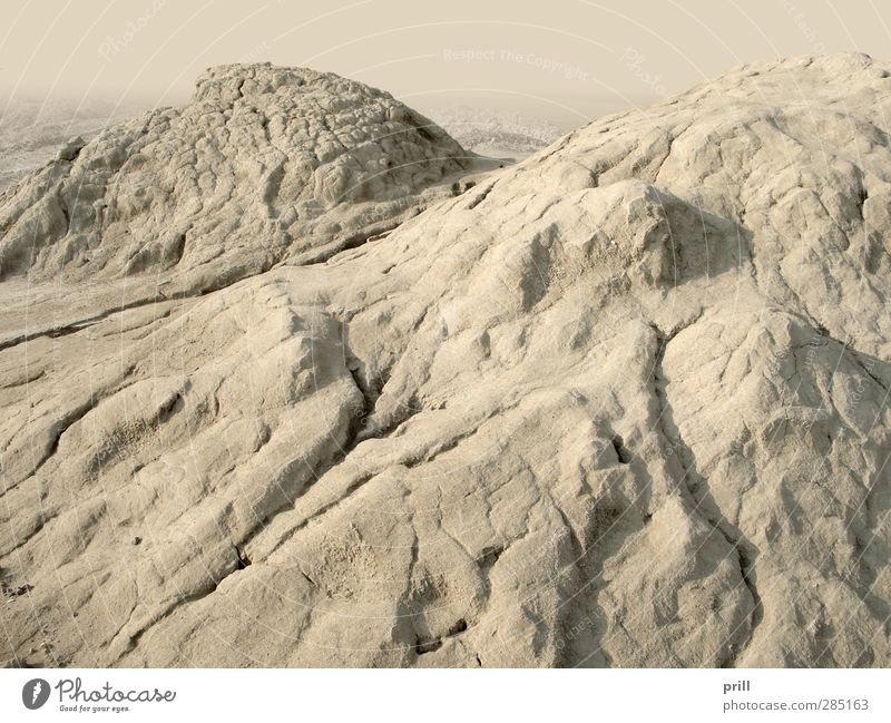 ground erosion Nature Landscape Sand Drought Hill Desert Jump Dirty Dry Brown landslide sinking Erosion Heap country Tone Mud Loam Sediment Washed out Weathered