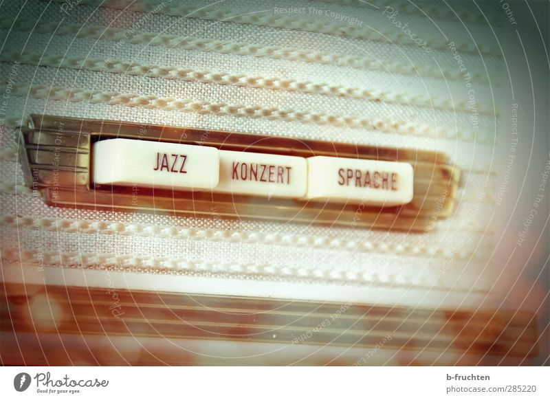 concert box Listen to music Concert Radio (broadcasting) Radio (device) Fragrance Retro Brown Safety (feeling of) Nostalgia Dream Past Time Key Jazz Language