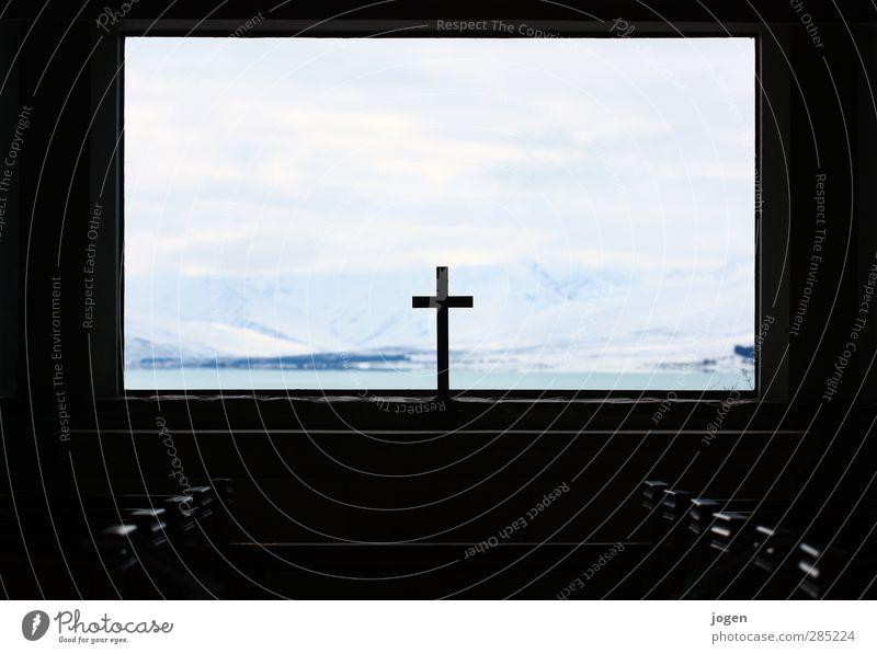 Calm Landscape Winter Window Mountain Death Freedom Religion and faith Esthetic Church Adventure Peak Grief Snowcapped peak Belief Monument