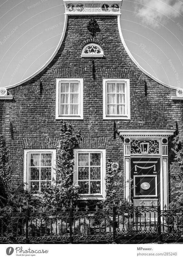Old Clouds House (Residential Structure) Window Architecture Building Garden Art Door Good Manmade structures Village Historic Brick Hut Monument
