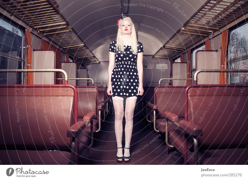 #245432 Vacation & Travel Tourism Trip Adventure Woman Adults 1 Human being 18 - 30 years Youth (Young adults) Public transit Train travel Passenger train