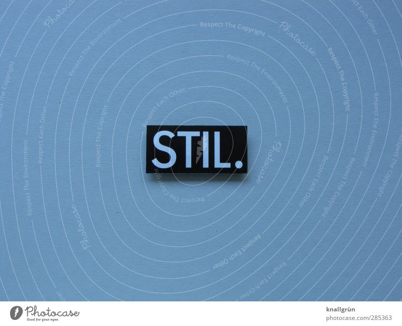 STIL. Characters Signs and labeling Communicate Esthetic Sharp-edged Uniqueness Gray Black Emotions Self-confident Design Elegant Luxury Quality Beautiful Style