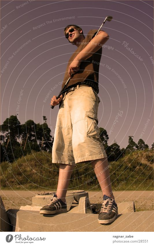el scamp Might Meppen Summer Man cross golf Cool (slang) Sun